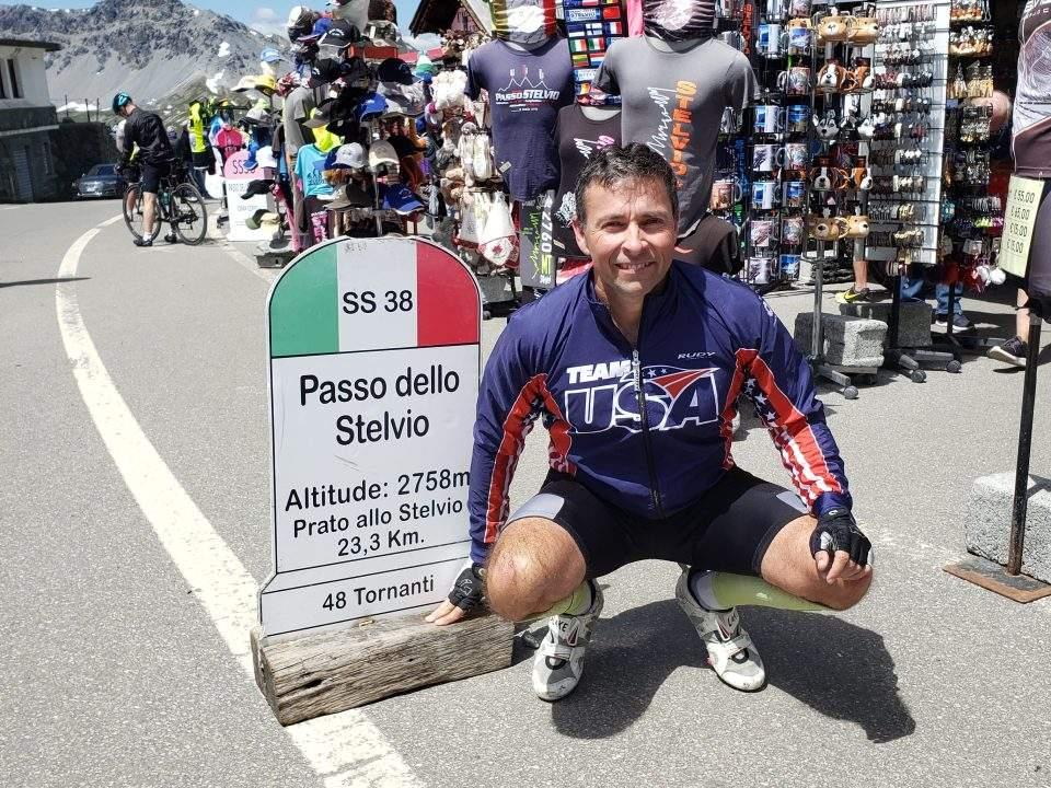 Jeff Gaura Stelvio Italy