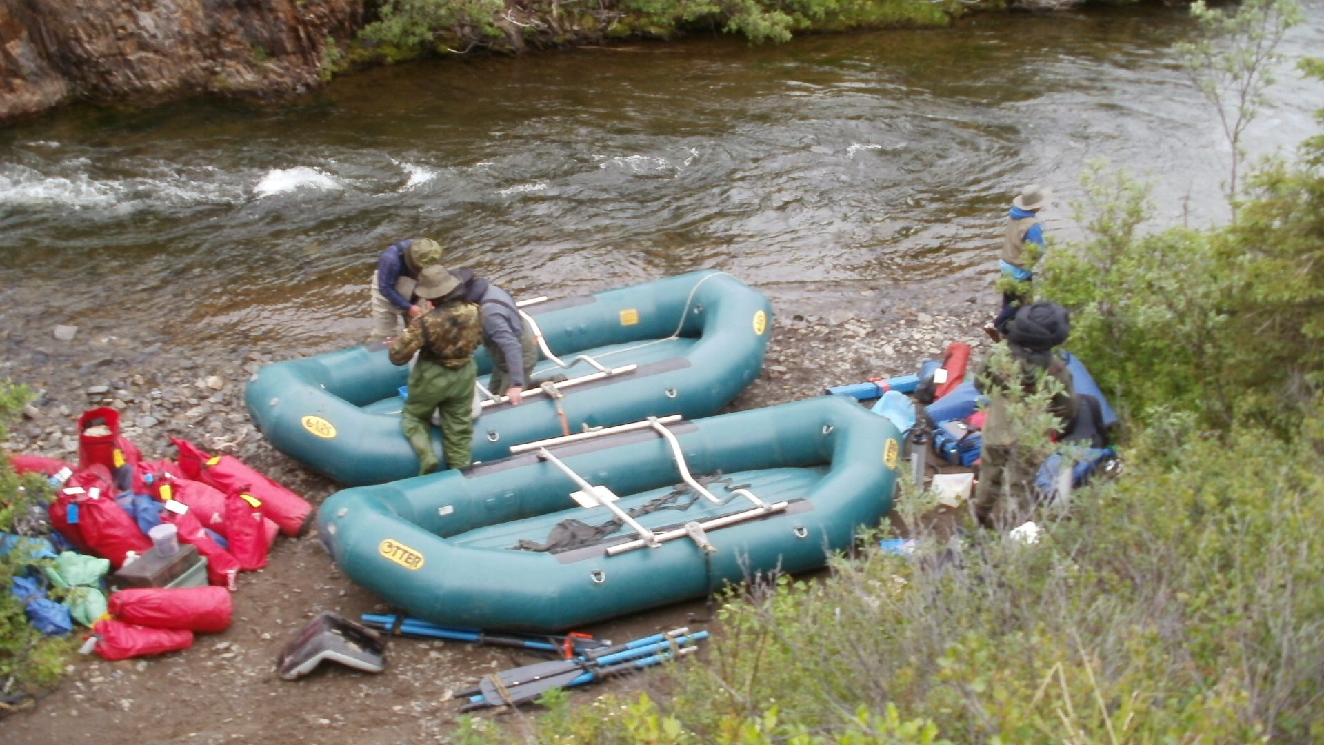 River and Lake Adventures - Start at the Salmon Rive in Western Alaska
