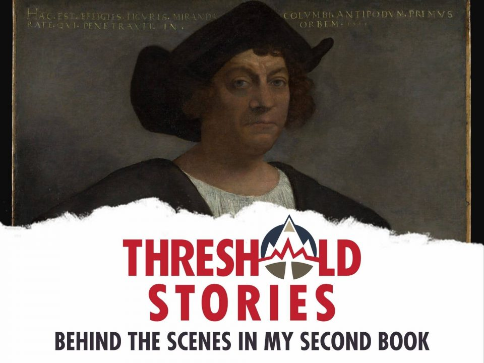 Threshold 103 - Behind the Scenes in My Second Book