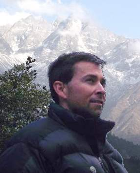 Jeff Gaura near mt everest in nepal