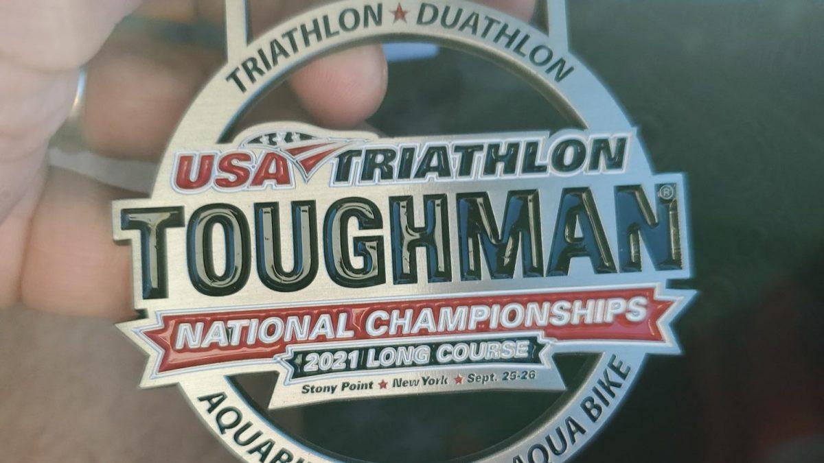 Long Course Duathlon Finishers Medal