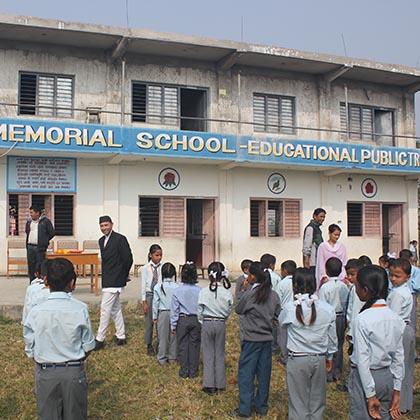 nepali blog - school